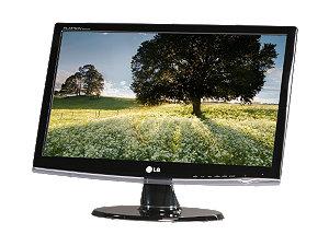 "LG W2253VP-PF GLOSSY BLACK 21.5"""