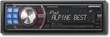 ALPINE - 50W X 4 APPLE® IPOD®/SATEL