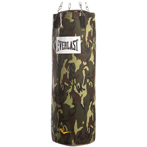 CANVAS CAMO HEAVY BAG