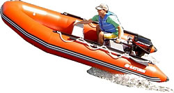 THE 13-FEET SATURN INFLATABLE BOAT